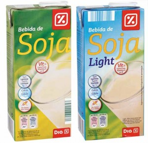 bebida soja light mercadona